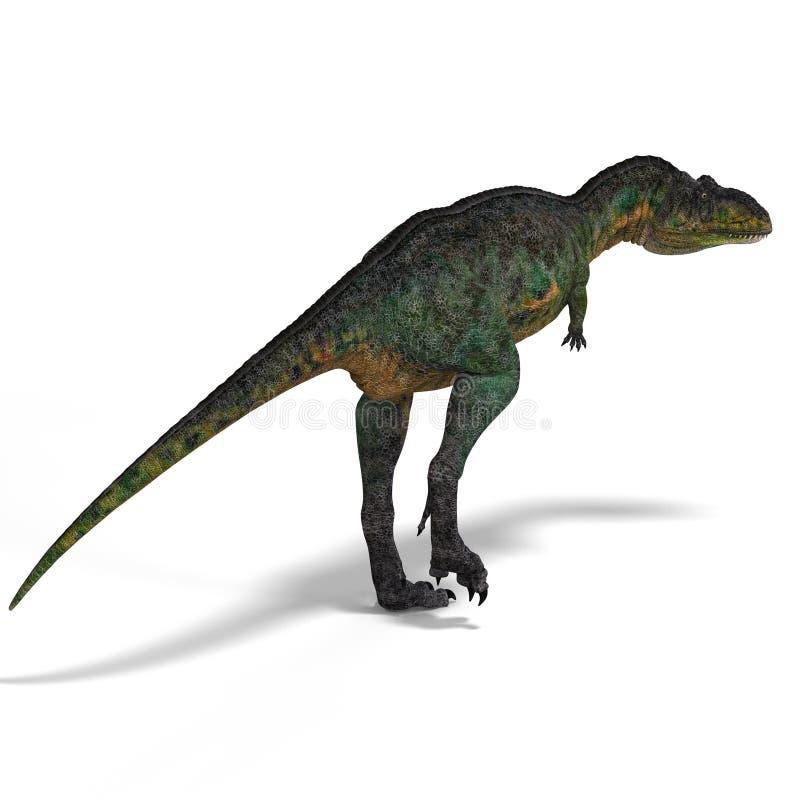 Dinosaur Aucasaurus Stock Photography