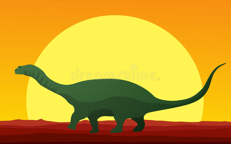 Download Dinosaur background 2 stock vector. Image of animal, cretaceous - 27694378