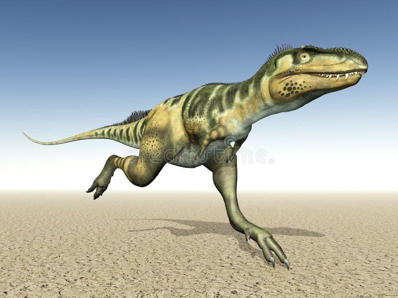 Dinosaur Bistahieversor Stock Photo