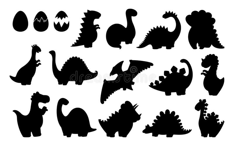 Dinosaur Silhouette Set Stock Illustrations 1 595 Dinosaur Silhouette Set Stock Illustrations Vectors Clipart Dreamstime Friendly looking dinosaurs are a favorite among young children. dreamstime com