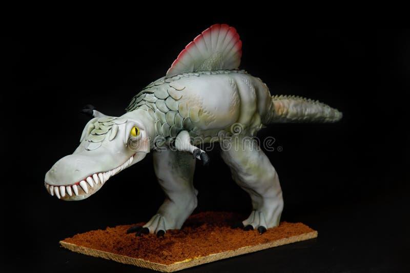 Dinosaur Cake royalty free stock images