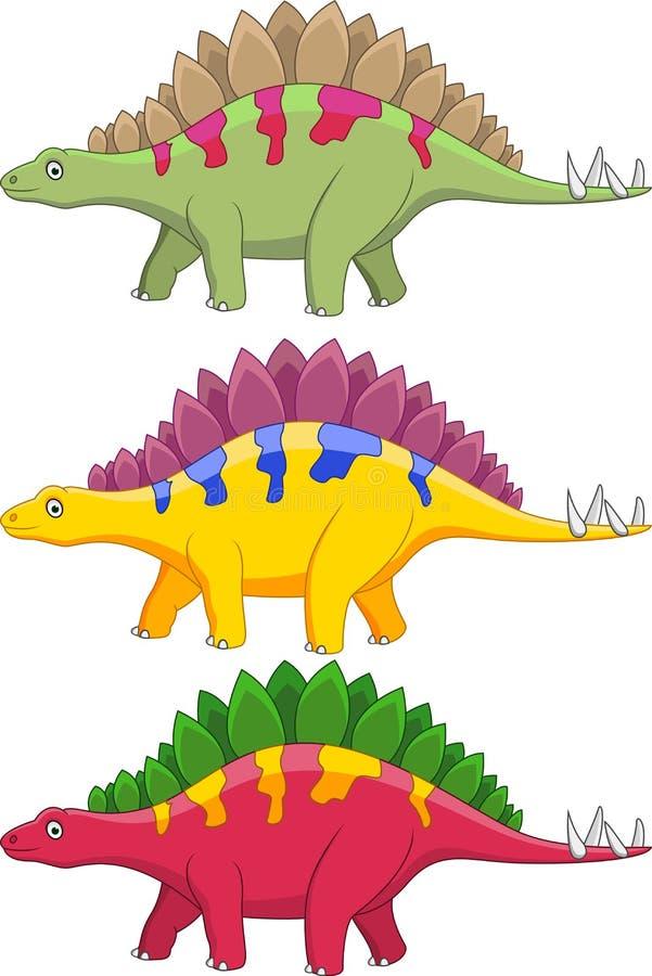 Download Dinosaur cartoon stock illustration. Image of cheerful - 24153852