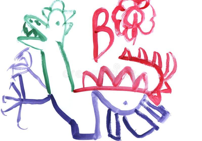 Dinosaur royalty free stock photo