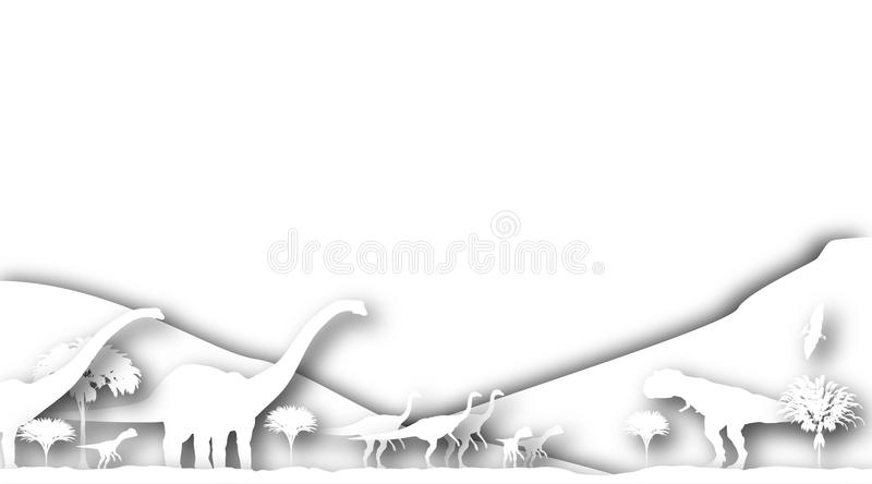 Download Dinosaur Cutouts Royalty Free Stock Images - Image: 14259999