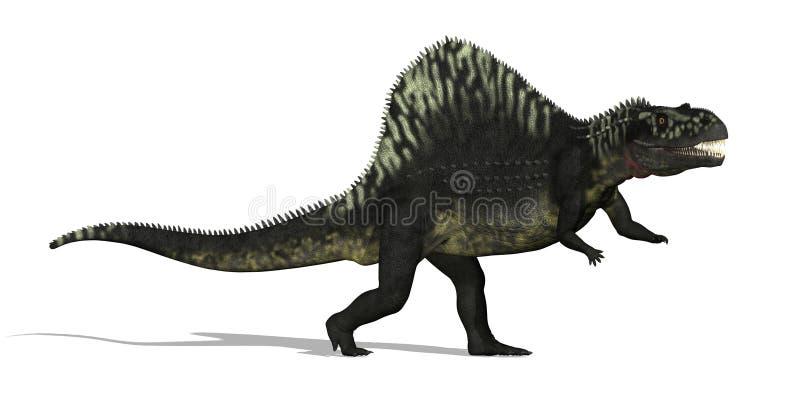 Dinosaur d'Arizonasaurus illustration stock