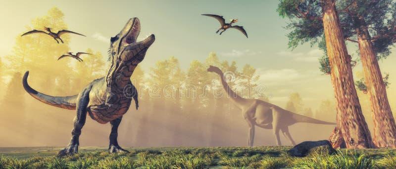 Dinosaur royalty free illustration
