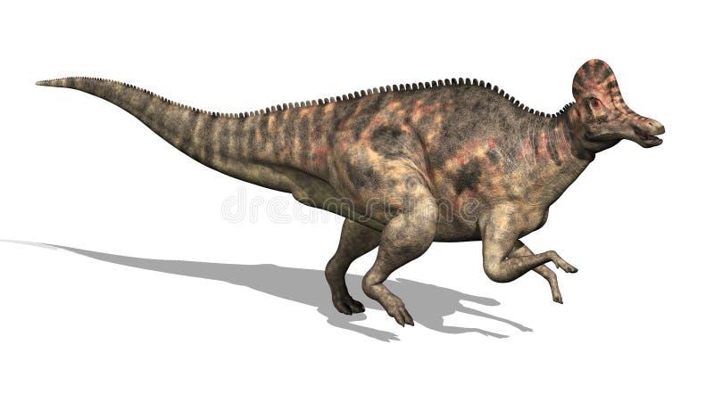 Dinosaur de Corythosaurus illustration de vecteur