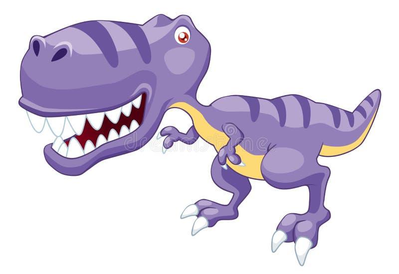 Dinosaur de dessin animé illustration libre de droits