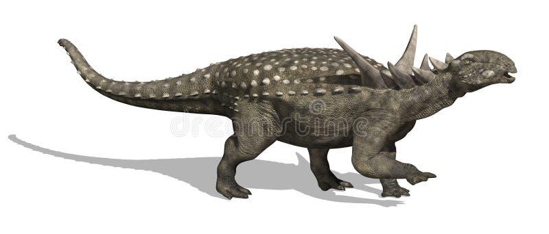 Dinosaur de Sauropelta illustration stock