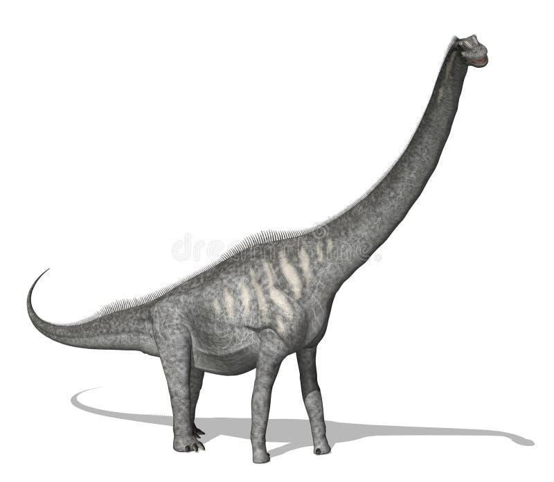 Dinosaur de Sauroposeidon illustration de vecteur