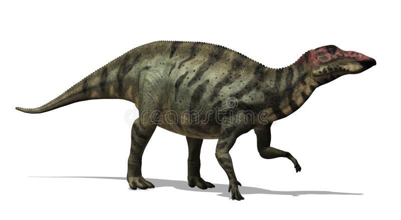 Dinosaur de Shuangmiaosaurus illustration stock
