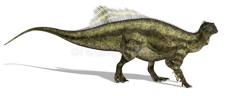 Dinosaur de Tenontosaurus illustration libre de droits