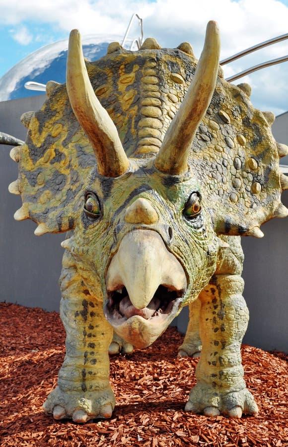 Dinosaur de Triceratops image libre de droits