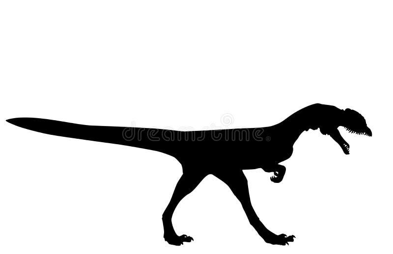 Dinosaur Dilophosaurus Stock Illustration Illustration Of