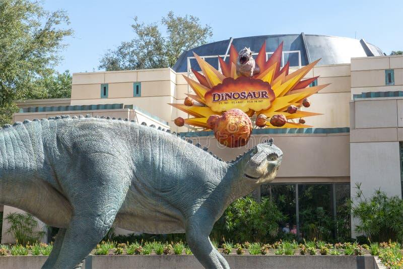 Dinosaur, Disney World, Travel, Animal Kingdom. Dinosaur ride in the Animal Kingdom at Walt Disney World outside of Orlando, FL. Florida is a popular travel royalty free stock photos