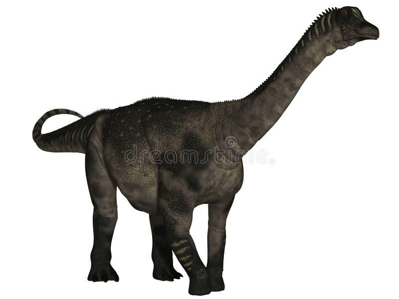 dinosaur för antarctosaurus 3d royaltyfri illustrationer
