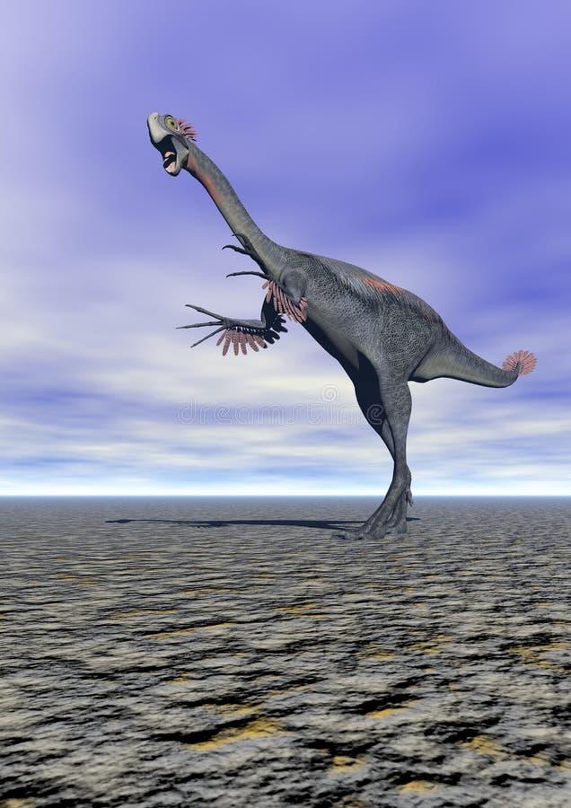Download Dinosaur gigantoraptor stock illustration. Image of isolated - 31988341