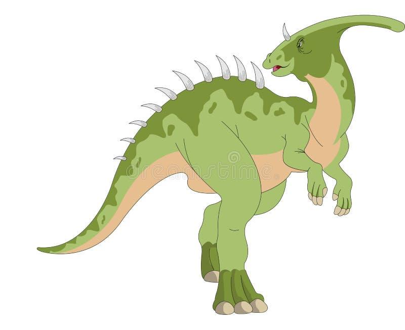 Dinosaur illustration vektor illustrationer