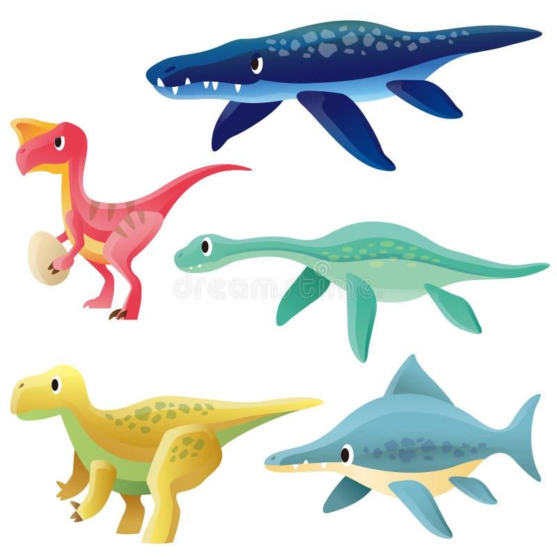 Download Dinosaur stock vector. Image of ichthyosaurus, devonian - 32946997