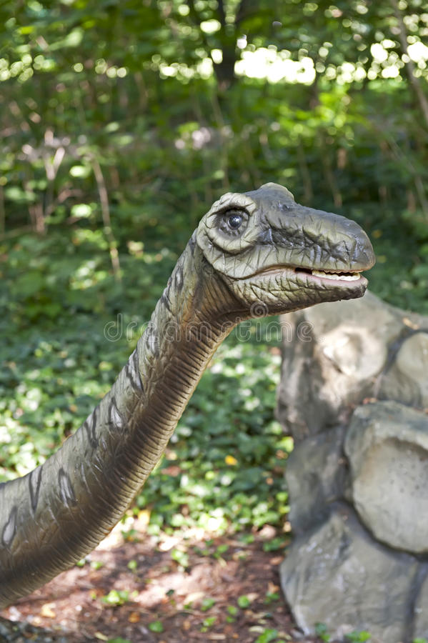 Download Dinosaur's head stock image. Image of dinosaur, forest - 25453777