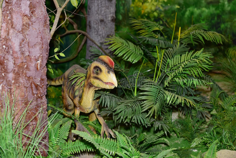 Download Dinosaur sculpture stock photo. Image of park, peninsula - 55773070
