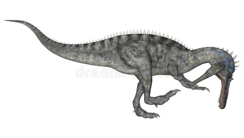 Dinosaur Suchomimus ilustracji