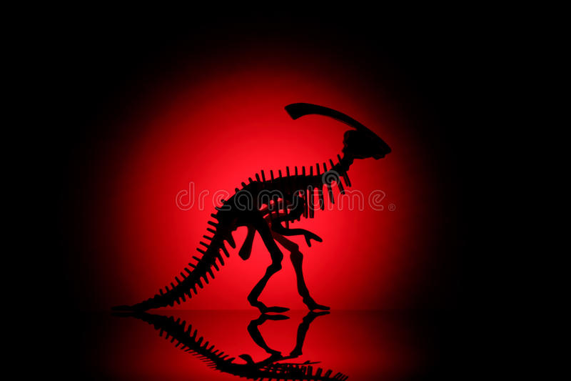 dinosaur sylwetka zdjęcia royalty free