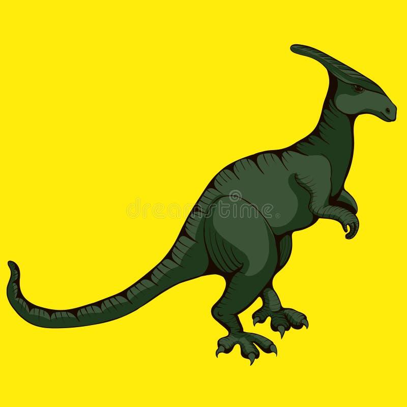 dinosaur vektor för halloween illustrationbilder Illustrationer för barn vektor illustrationer