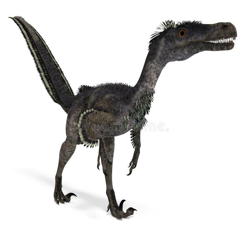 Dinosaur Velociraptor royalty free illustration