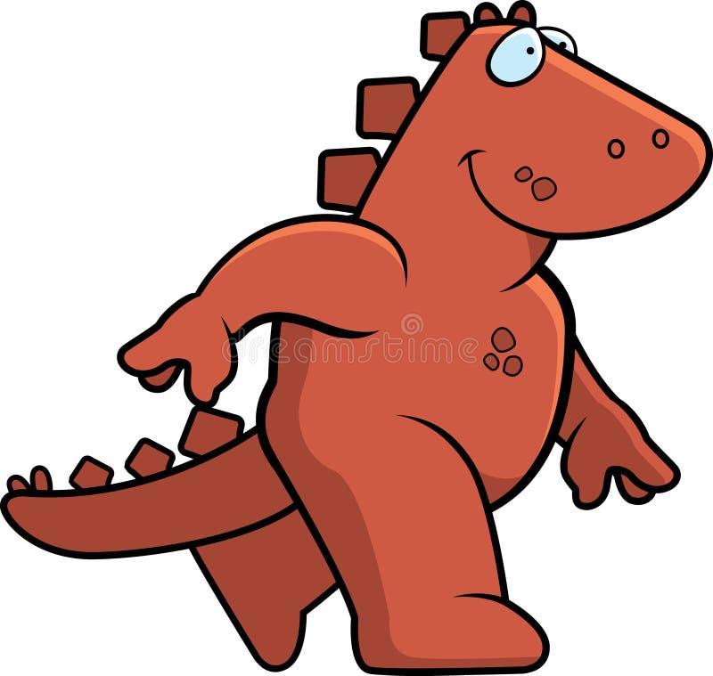 Download Dinosaur Walking stock vector. Image of animal, walking - 6905945
