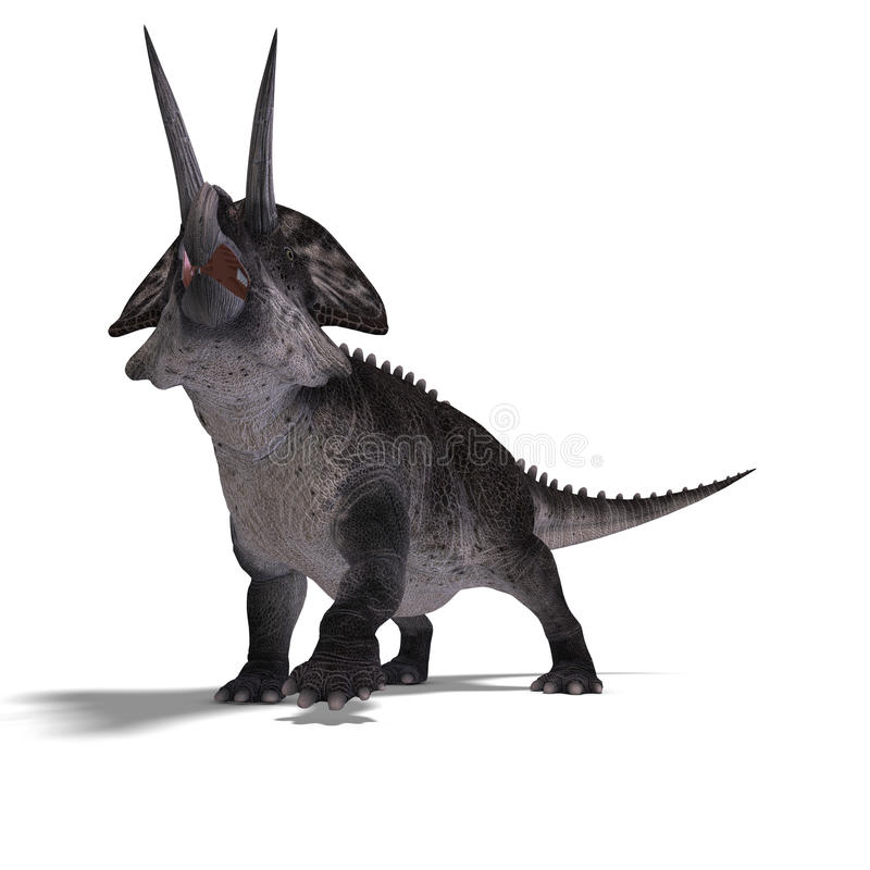 Dinosaur Zuniceratops Royalty Free Stock Photos