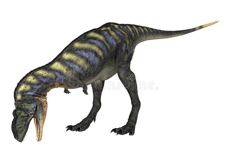 Dinosaura Aucasaurus ilustracji