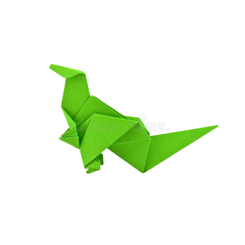 dinosaura origami obrazy royalty free