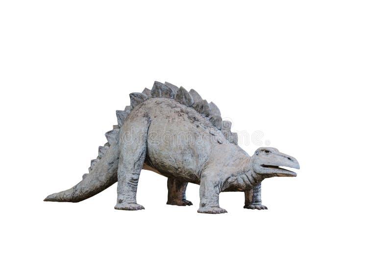 Dinosaura stiuk w parku zdjęcia stock