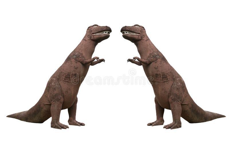 Dinosaura stiuk w parku obrazy stock