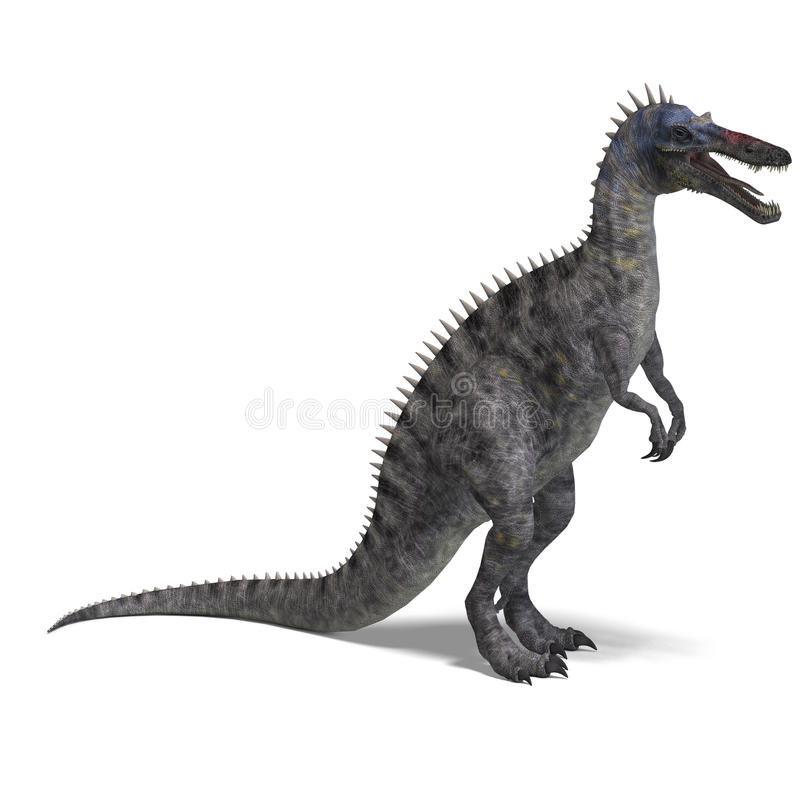 dinosaura suchominus ilustracja wektor