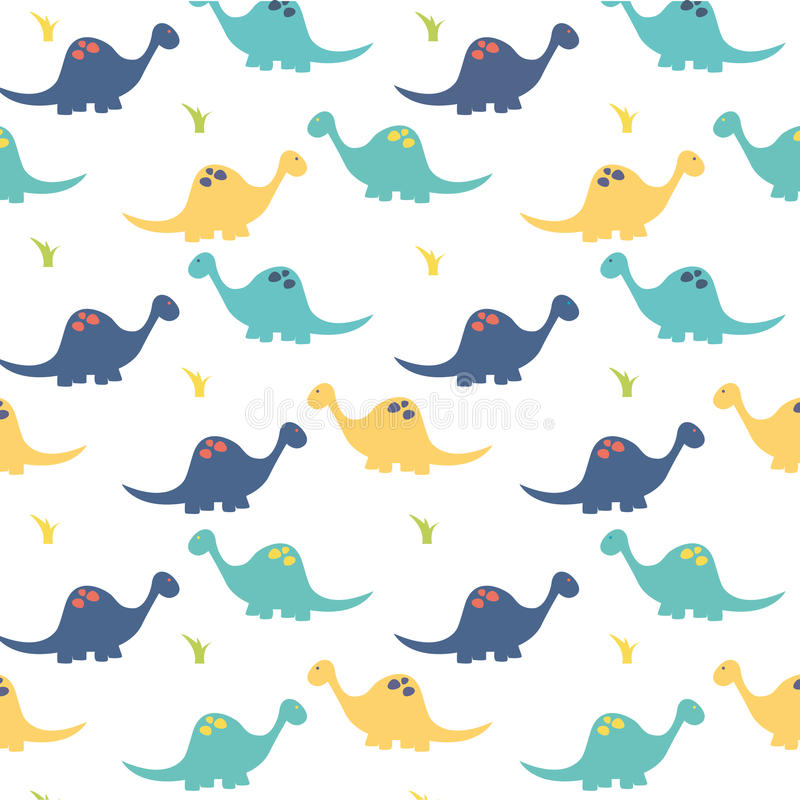 Dinosaura tło royalty ilustracja