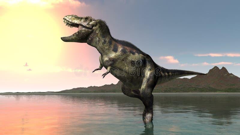 Dinosaure illustration stock