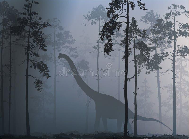 Dinosaure illustration de vecteur