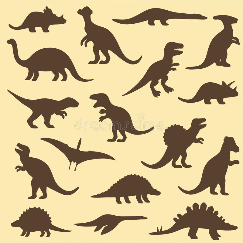 Dinosaure, animal illustration stock