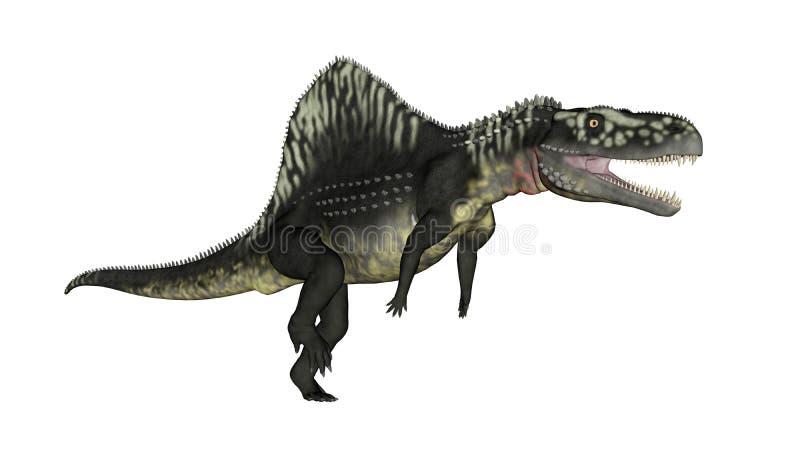 Dinosaure d'Arizonasaurus - 3D rendent illustration de vecteur