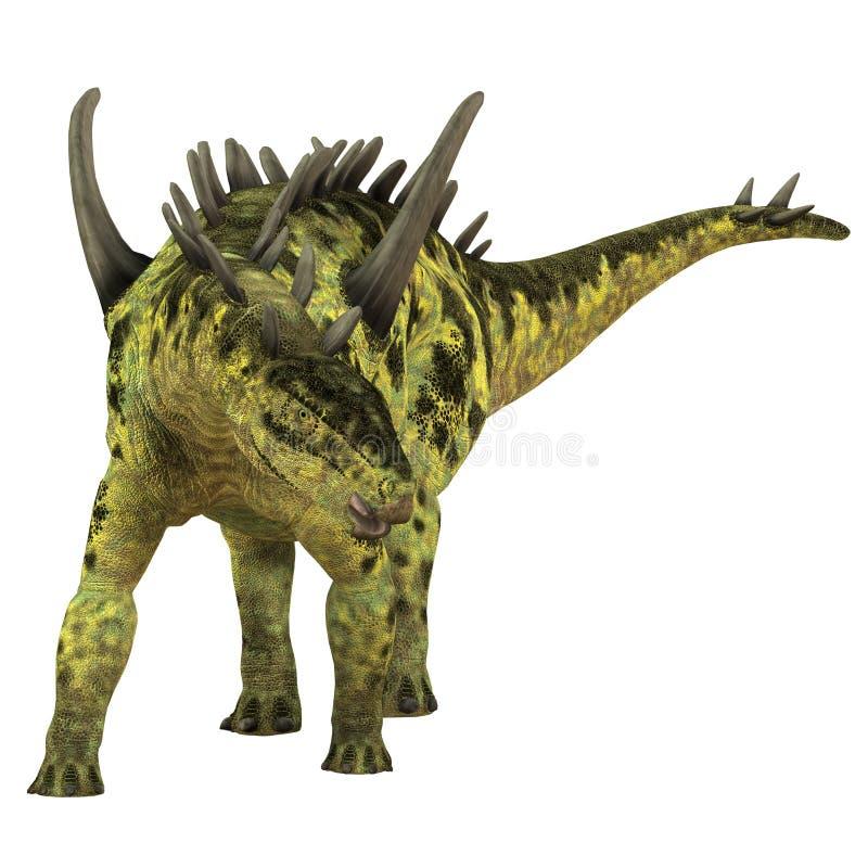 Dinosaure d'herbivore de Gigantspinosaurus illustration de vecteur