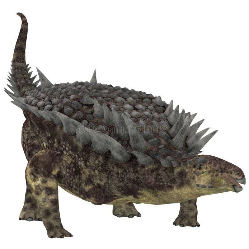 Dinosaure d'herbivore de Hungarosaurus illustration libre de droits