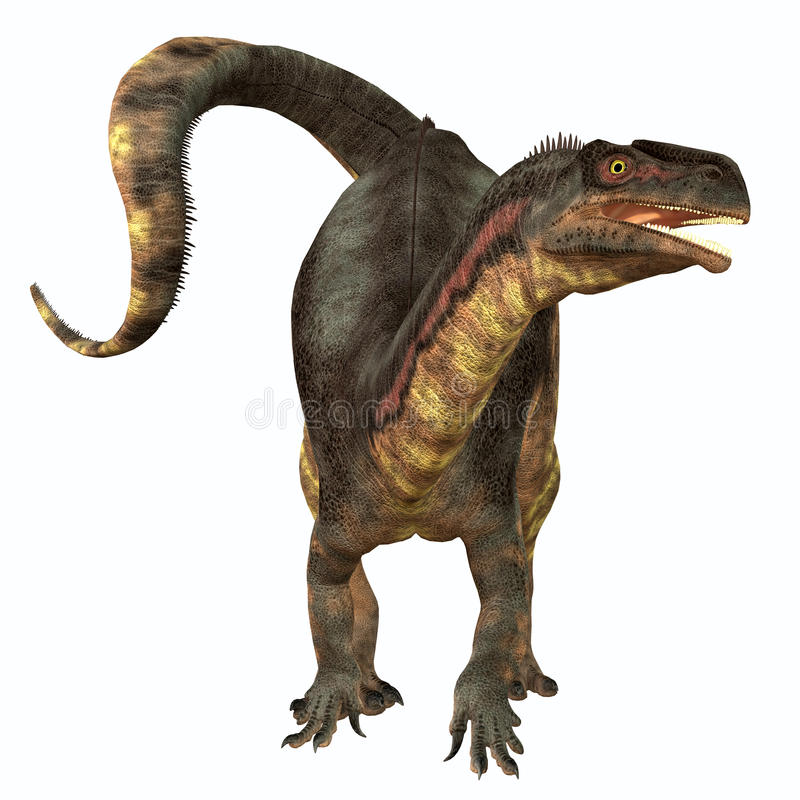 Dinosaure d'herbivore de Plateosaurus illustration libre de droits