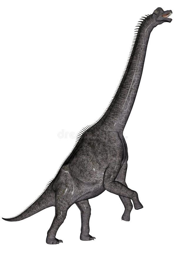 Dinosaure de Brachiosaurus illustration de vecteur