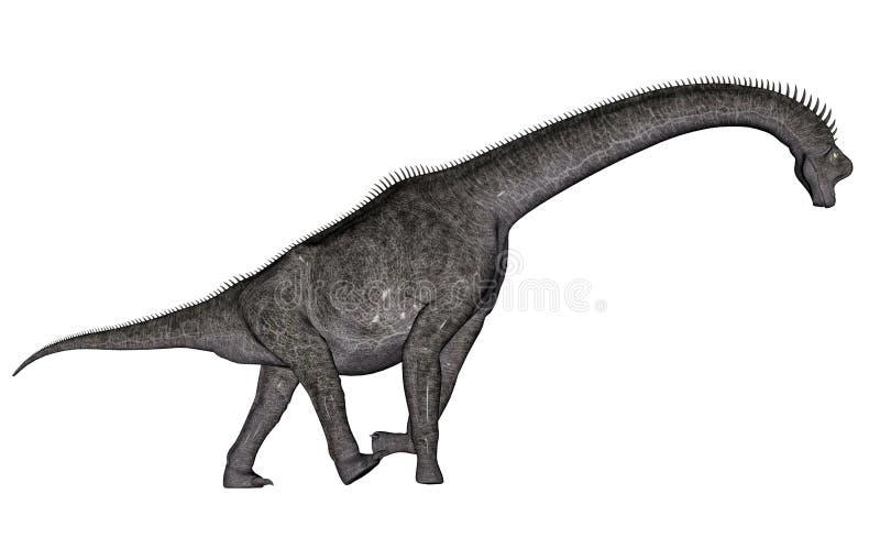 Dinosaure de Brachiosaurus illustration stock