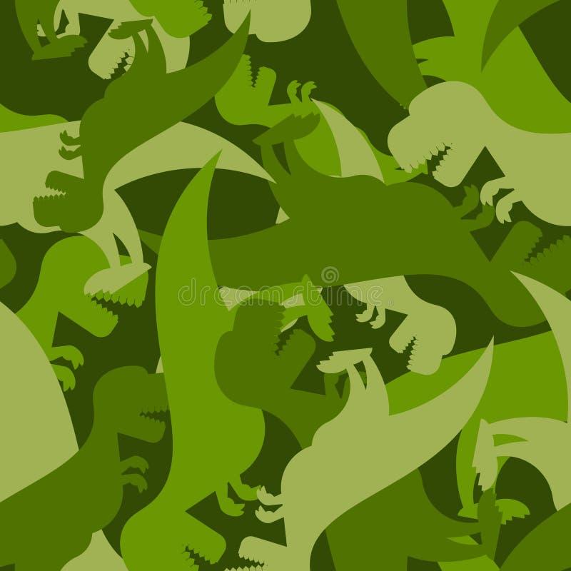 Dinosaure militaire de modèle Texture d'armée de tyrannosaure illustration libre de droits