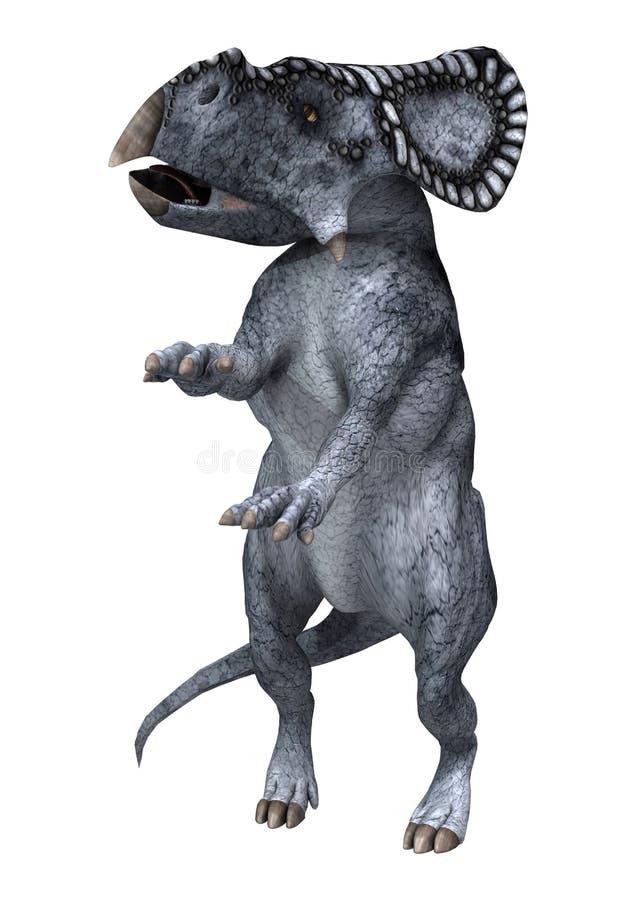 Dinosaure Protoceratops illustration de vecteur