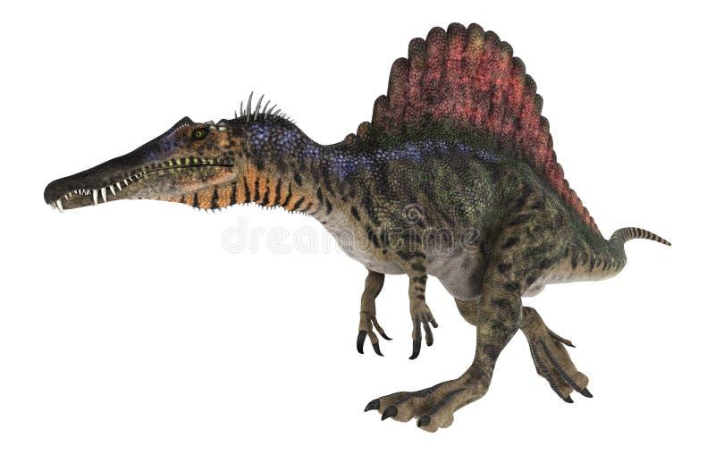 Dinosaure Spinosaurus illustration libre de droits