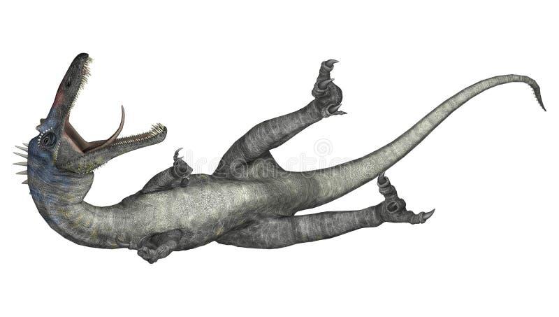 Dinosaure Suchomimus illustration de vecteur